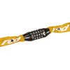Red Cycling Products Secure Chain - Antivol vélo - resettable jaune